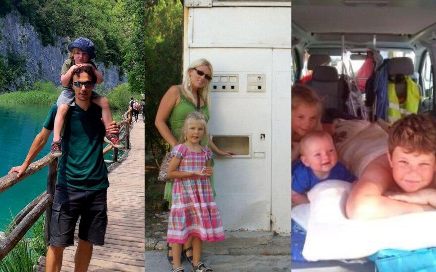 Šeimos kelionės automobiliu