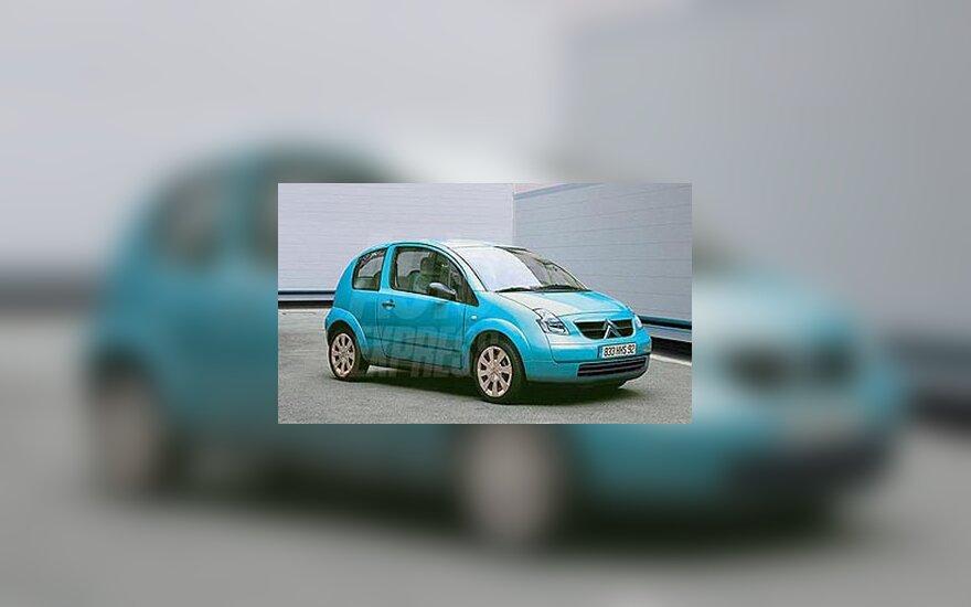 """Citroen C2"" automobilis"