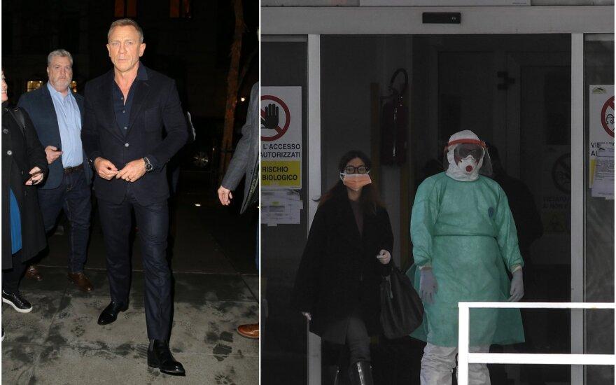 Daniel Craigas ir Korona virusas
