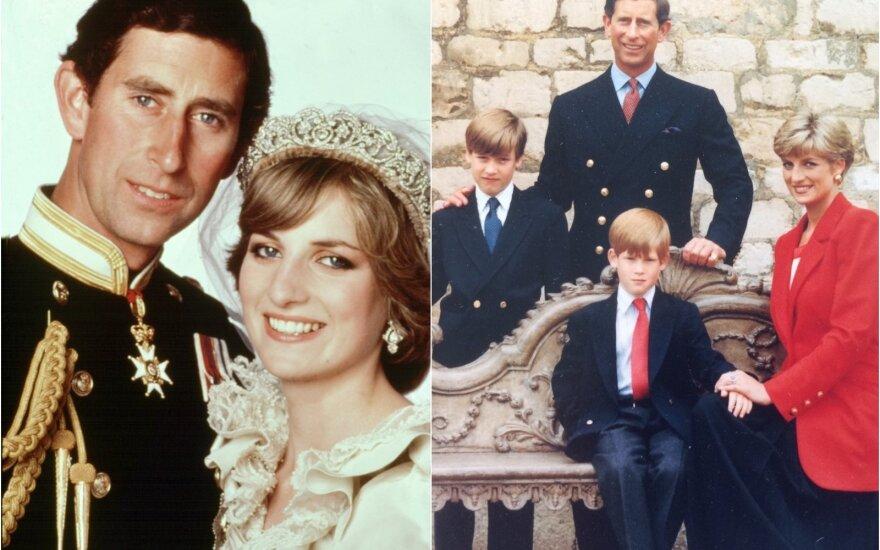 Princas Charlesas ir princesė Diana