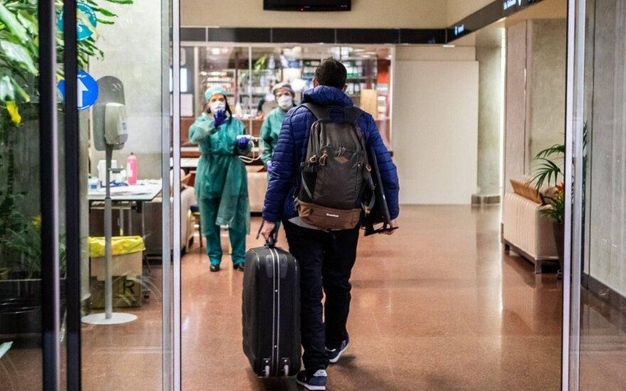 Italija: prasidėjo sunkesnis pandemijos etapas