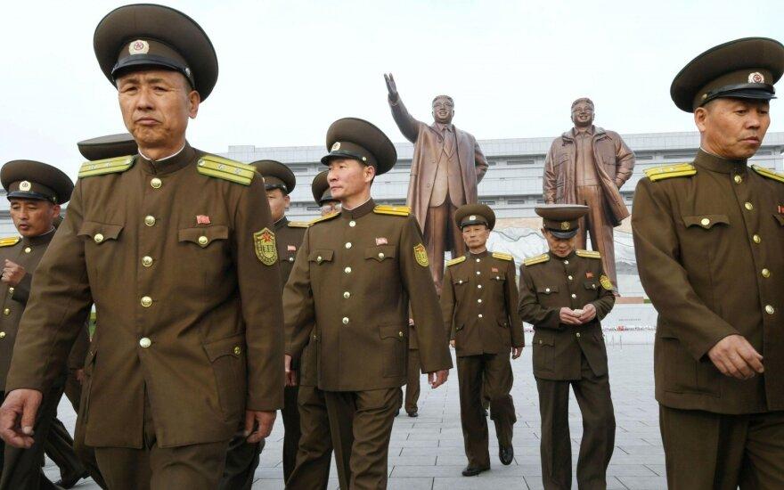 Iš Šiaurės Korėjos – reikalavimas Amerikai