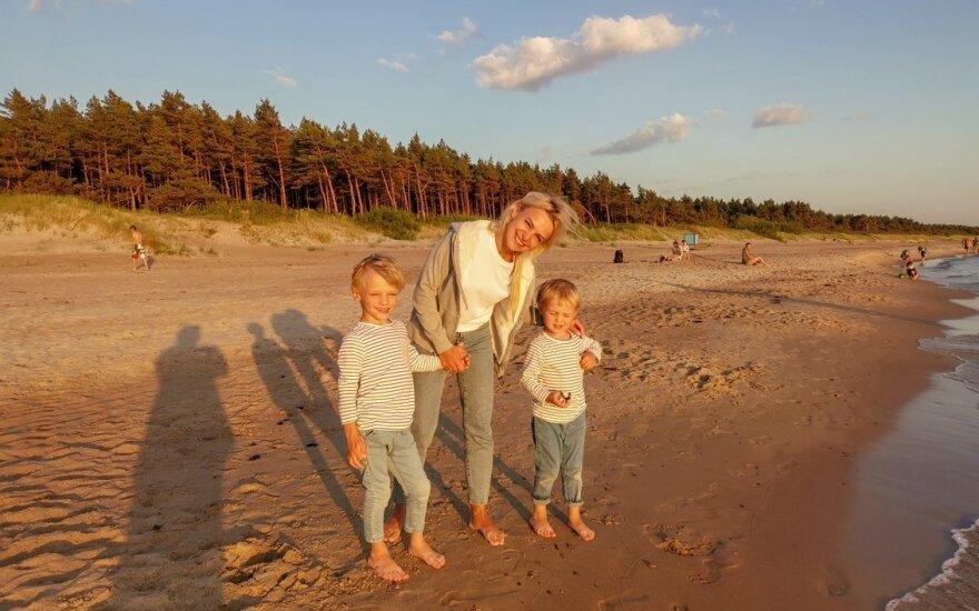 Rūta Lapė su vaikais