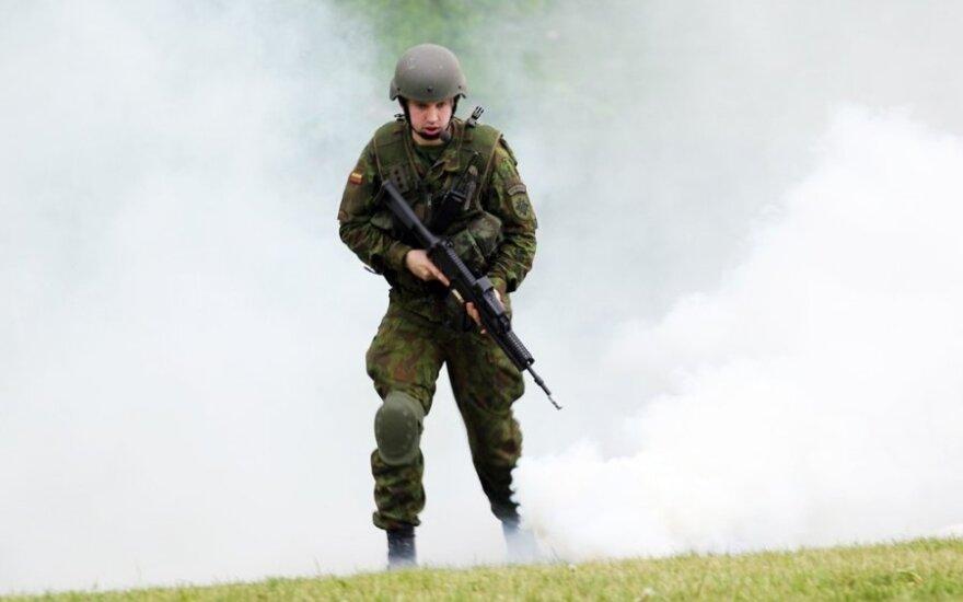 Generolas: būtina stiprinti kariuomenės rezervą