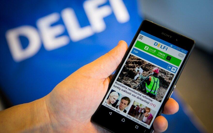 """DELFI – naujoje socialinio tinklo """"Facebook"""" platformoje"""