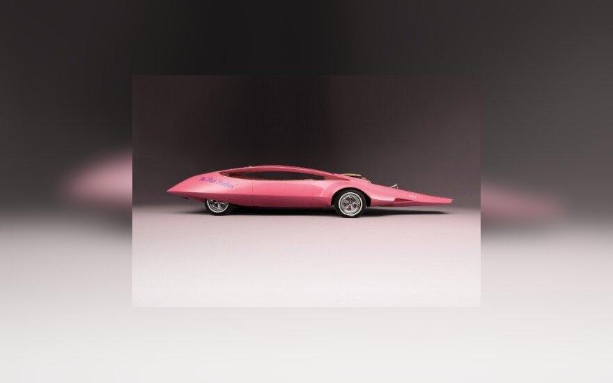 Rožinės panteros automobilis