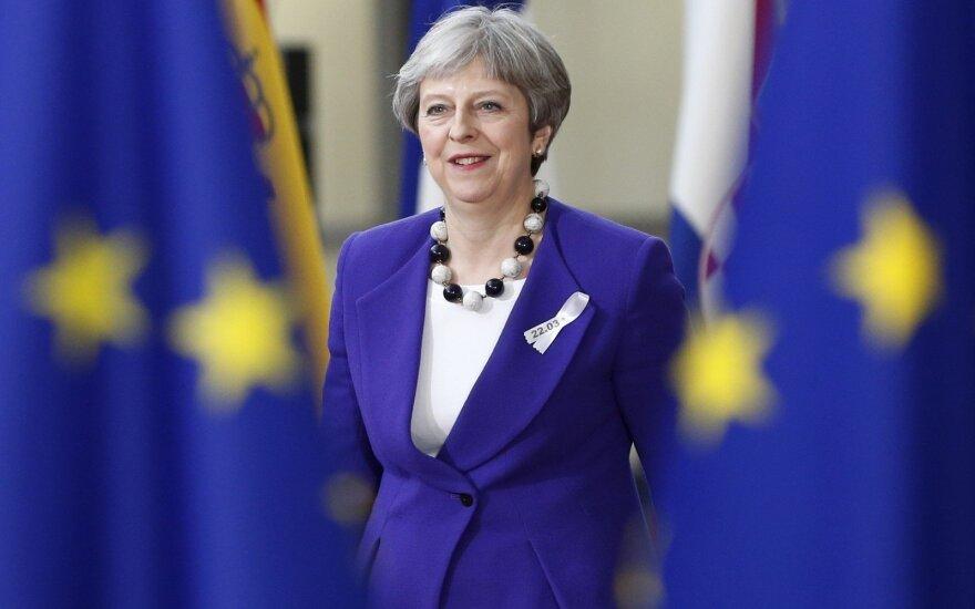 Iš britų premjerės – griežtas pareiškimas dėl Rusijos