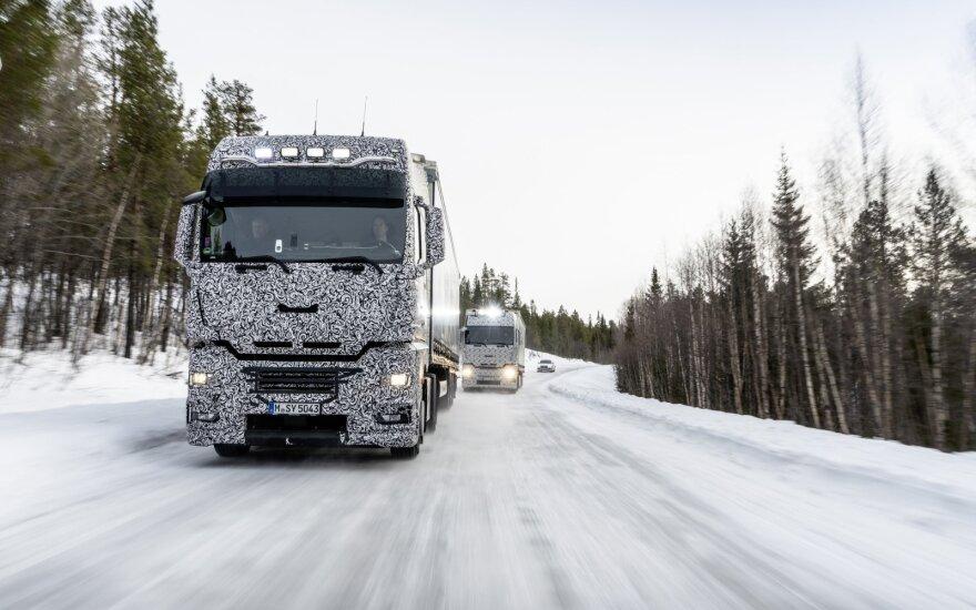 Pristatytas naujas sunkvežimis MAN TG