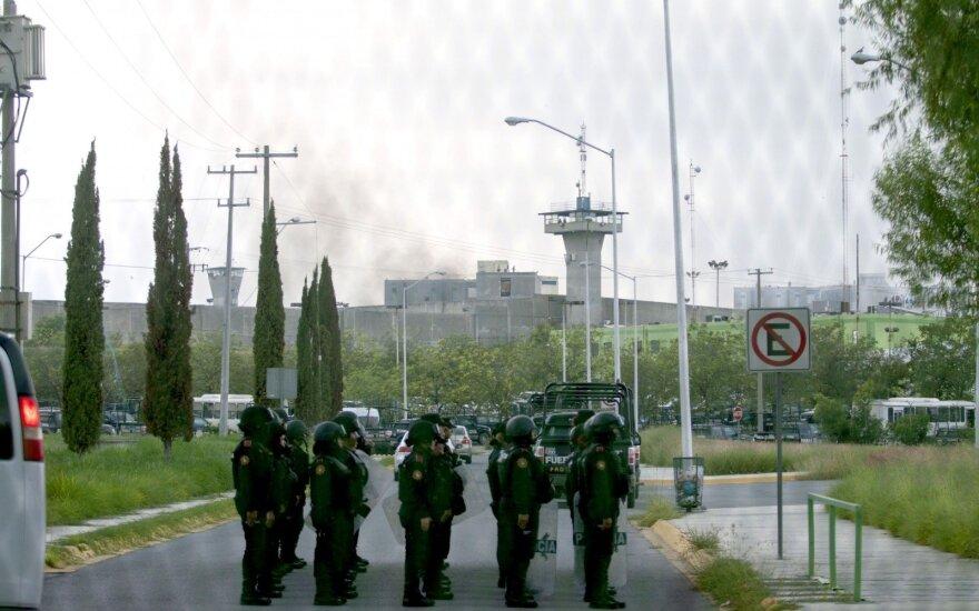 Meksikoje per riaušes kalėjime žuvo 7 žmonės, iš jų 6 policininkai