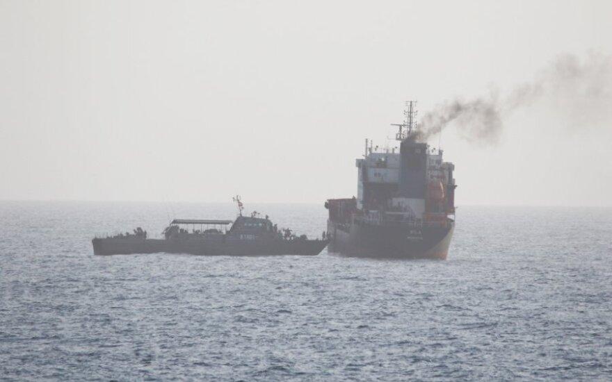 JAV konfiskavo tanklaivių, gabenusių degalus iš Irano į Venesuelą, krovinį