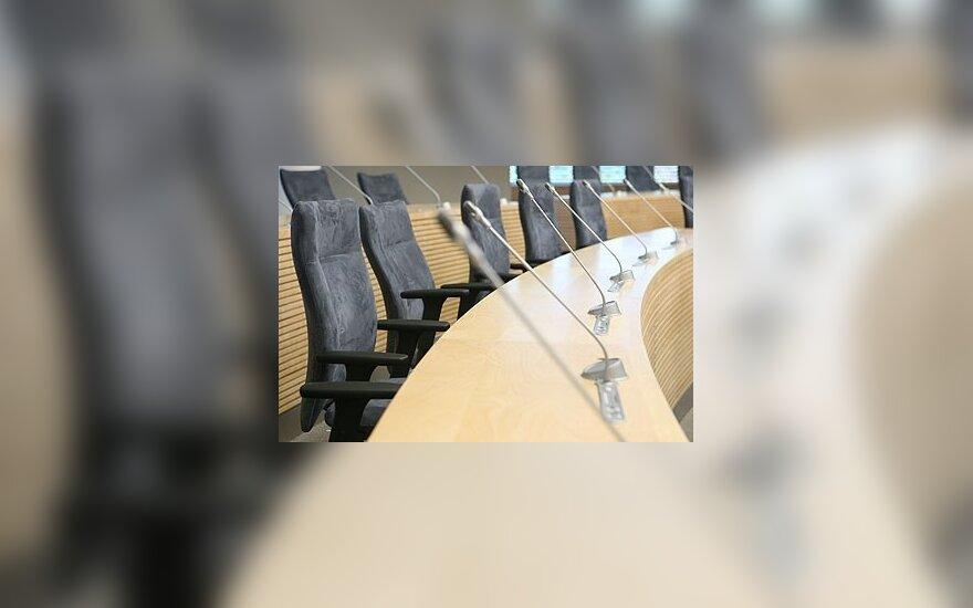 Lietuvos parlamente – atostogos vogčiomis