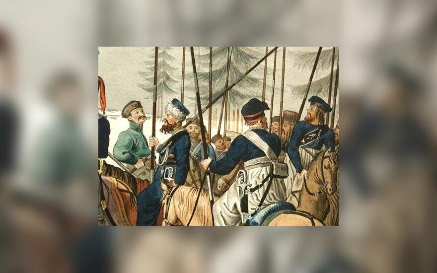 Matvejaus Platovo vadovaujami kazokai