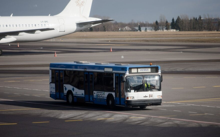 Vilnius Airport starts reconstruction of taxiways and apron
