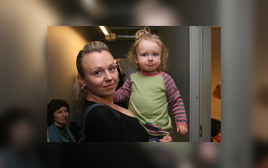 Violeta Tarasovienė su dukra