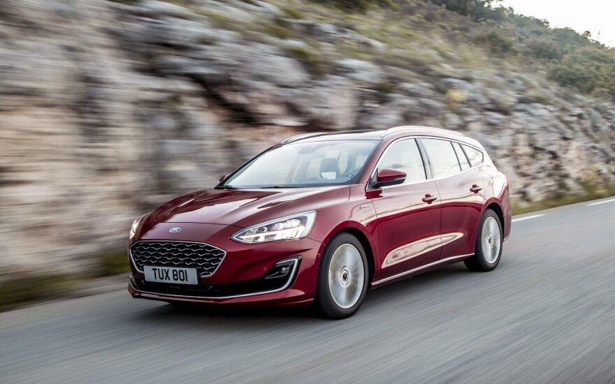 """""""Ford"""" į elektromobilių startuolį """"Rivian"""" investuos 500 mln. dolerių"""
