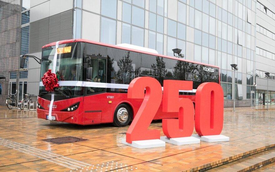 Į sostinės gatves išrieda 50 naujų autobusų
