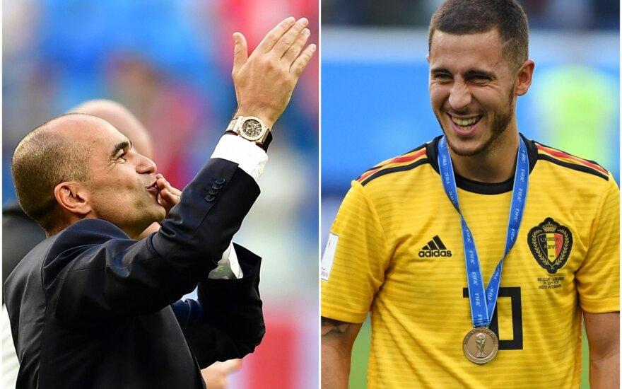 Roberto Martinezas ir Edenas Hazardas