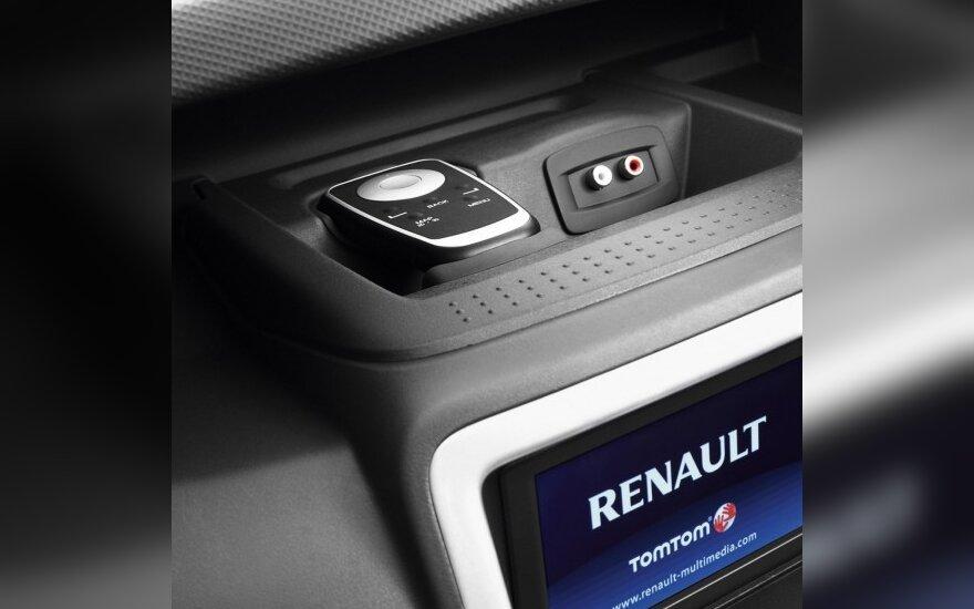 """Daugumai """"Renault"""" modelių – atnaujinta navigacinė sistema"""