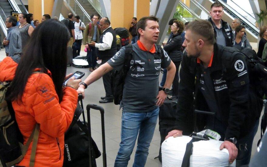 Antanas Juknevičius atvyko į Limą