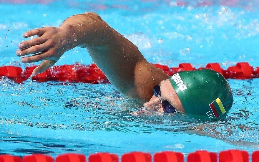 Plaukikas M. Sadauskas Švedijoje finišavo penktas