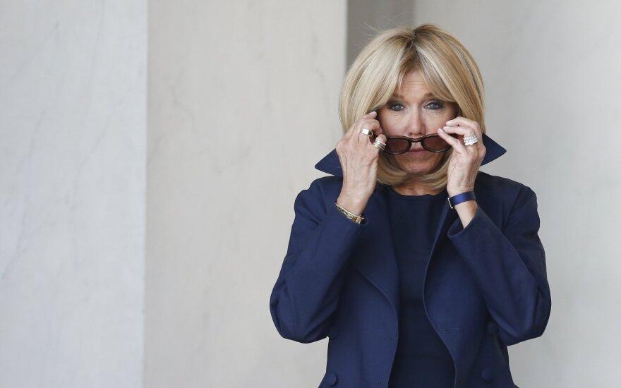 Brigitte Macron stilius
