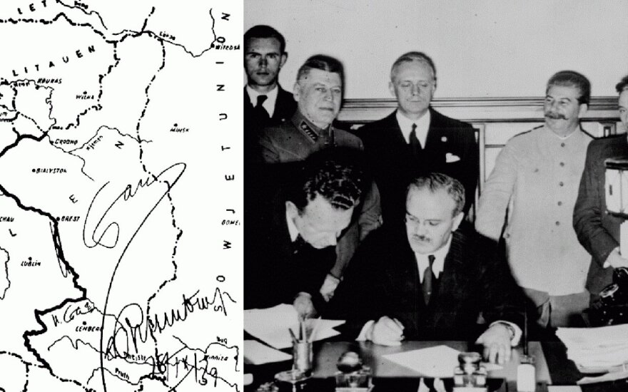 Lithuania protests attempt by Russia to rehabilitate the Molotov-Ribbentrop pact