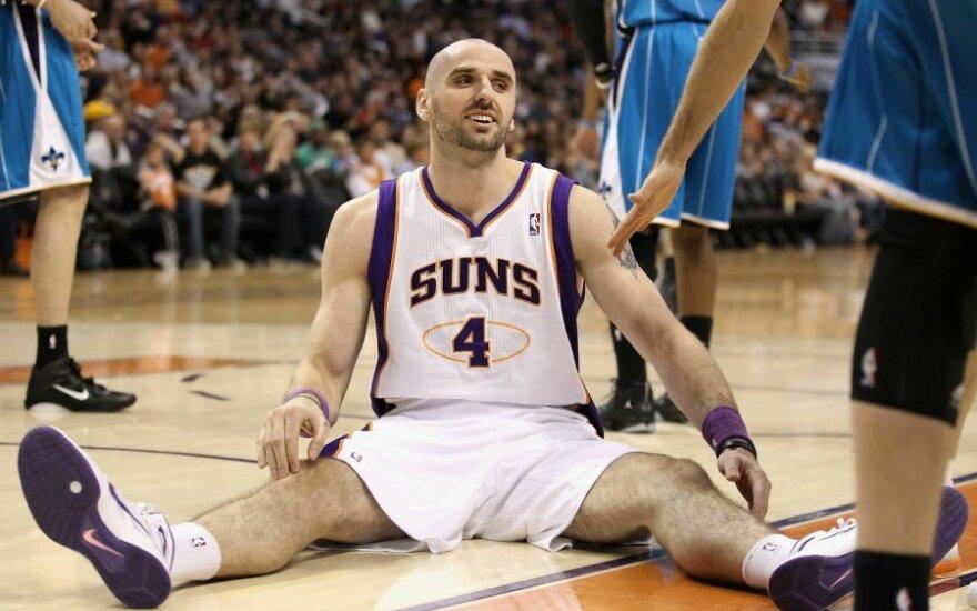 """""""Suns"""" puolėjas Marcinas Gortatas"""