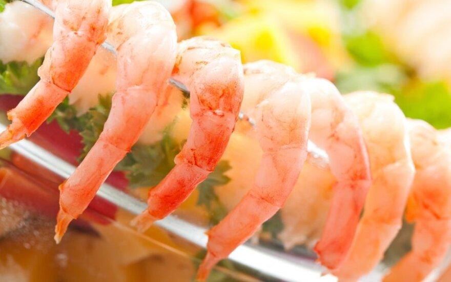 Sicilietiškas krevečių užkandis