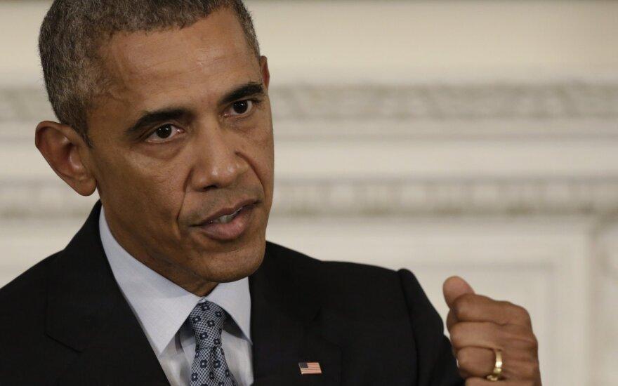 B. Obama: Rusija nėra sėkminga, ji tik sulaukia dėmesio