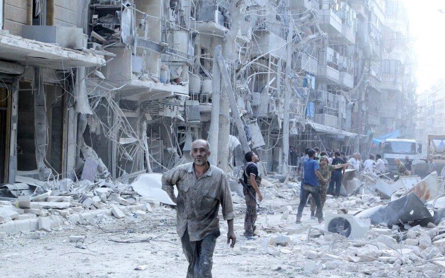 Sukilėliai Sirijoje: Rusijos įsikišimas pareikalaus dar nuožmesnės kovos