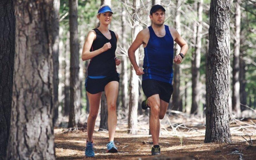 Pradedančio bėgiko dienoraštis #4: kodėl sportuojant svarbu žinoti savo širdies ritmą