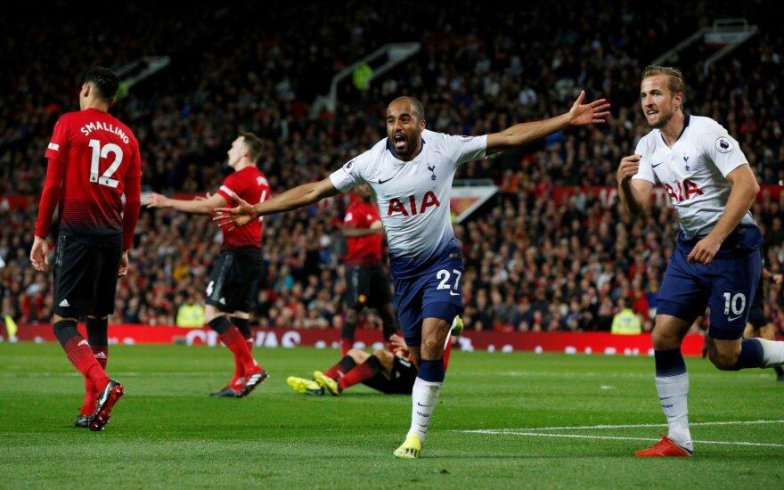 """Mourinho – antras antausis iš eilės: """"Man United"""" pažemintas """"Old Trafforde"""""""