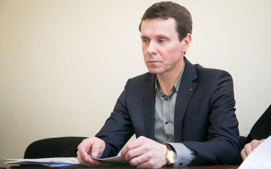 """Raimondas Kurlianskis traukiasi iš """"MG Baltic"""""""