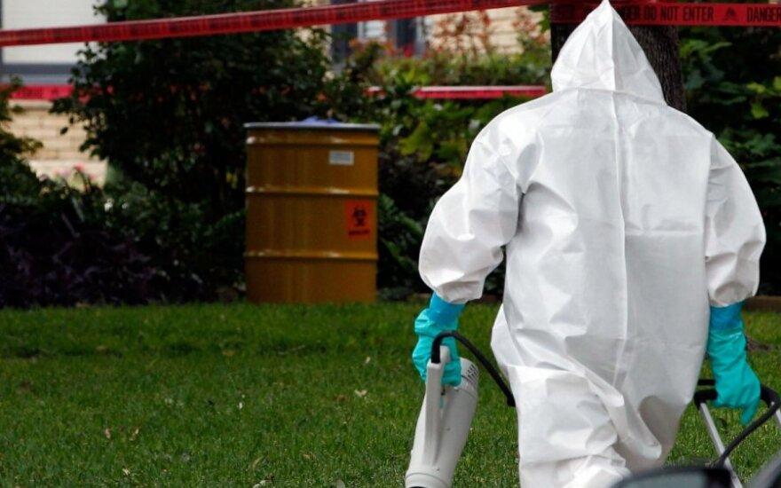 JAV – griežtos taisyklės dėl Ebolos karštinės