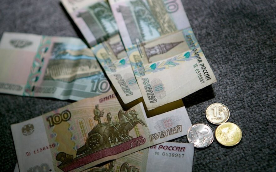 Rusijoje programišiai iš bankų pernai pavogė trilijoną rublių