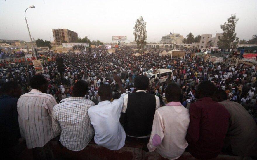 Protestai Sudane