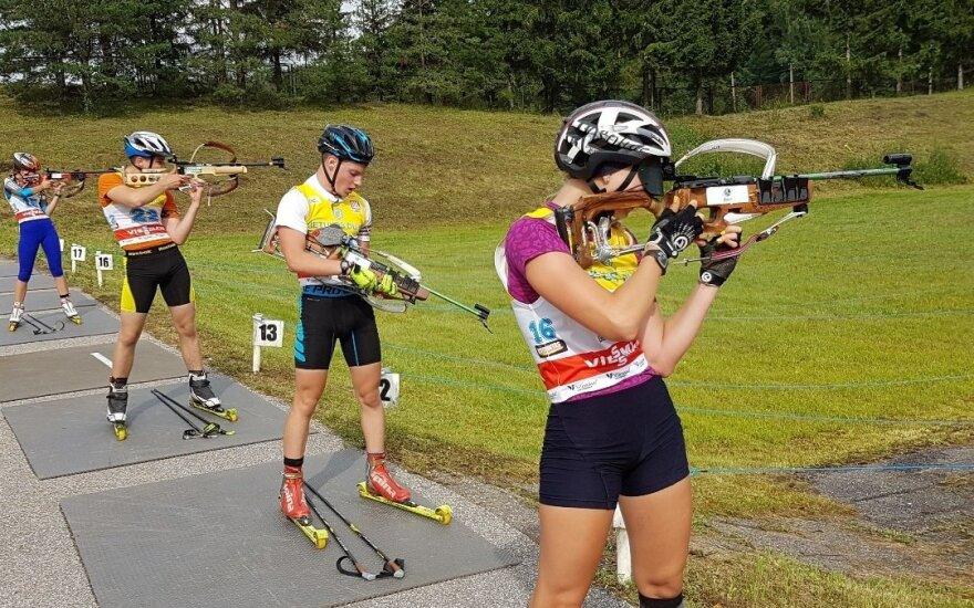 Lietuvos vasaros biatlono čempionatas (LBF nuotr.)