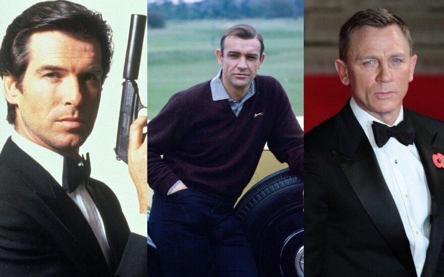 Paaiškėjo, kuris Jamesas Bondas buvo sėkmingiausias