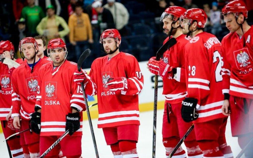 Lenkija - vienvaldė pasaulio ledo ritulio čempionato Vilniuje lyderė
