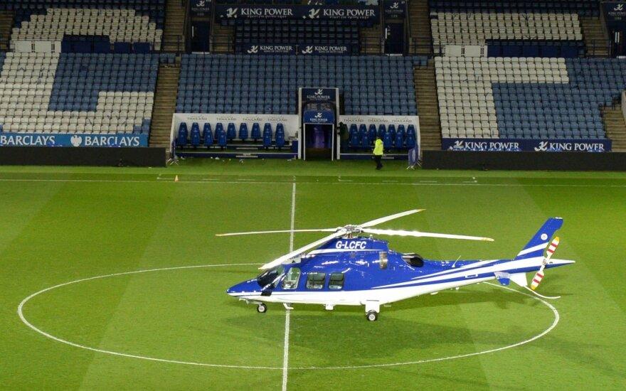 """""""Leicester"""" klubo savininko sraigtasparnis"""