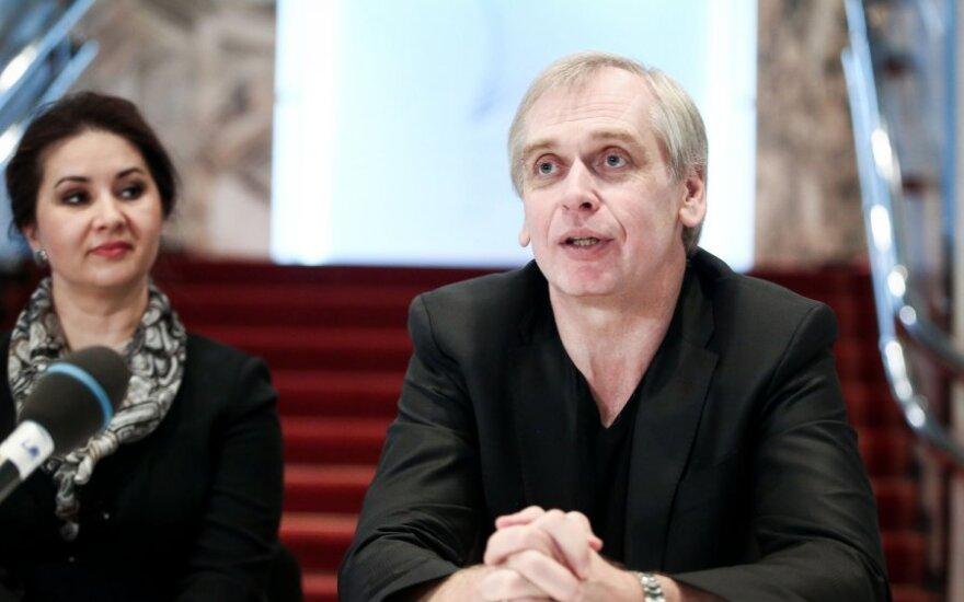 Lilija Gubaidulina ir Gintaras Rinkevičius