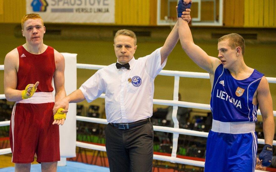 Dano Pozniako jaunimo bokso turnyras (Organizatorių nuotr.)