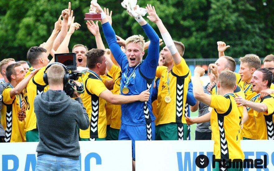 LFF U-21 jaunimo rinktinės kova su Latvija