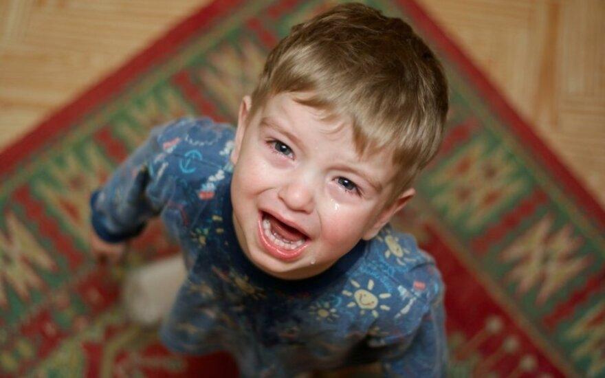 Kai bendraujant su vaiku užuojauta ir empatija nebeveikia