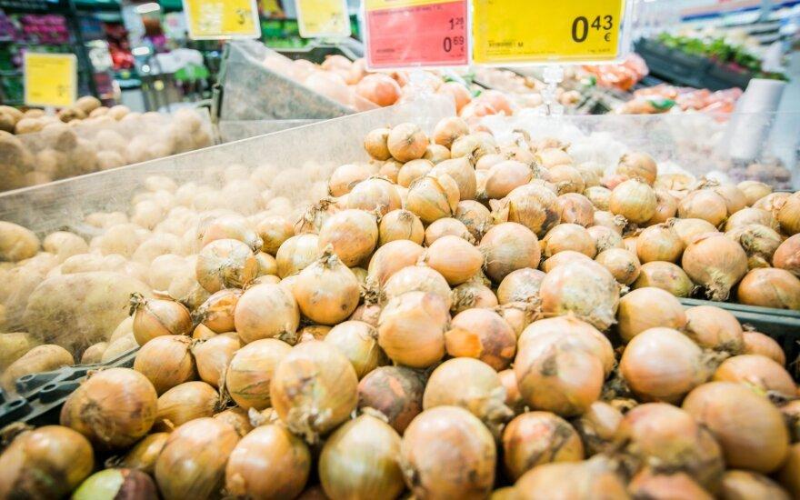 Gegužę mažėjo maisto produktų kainos