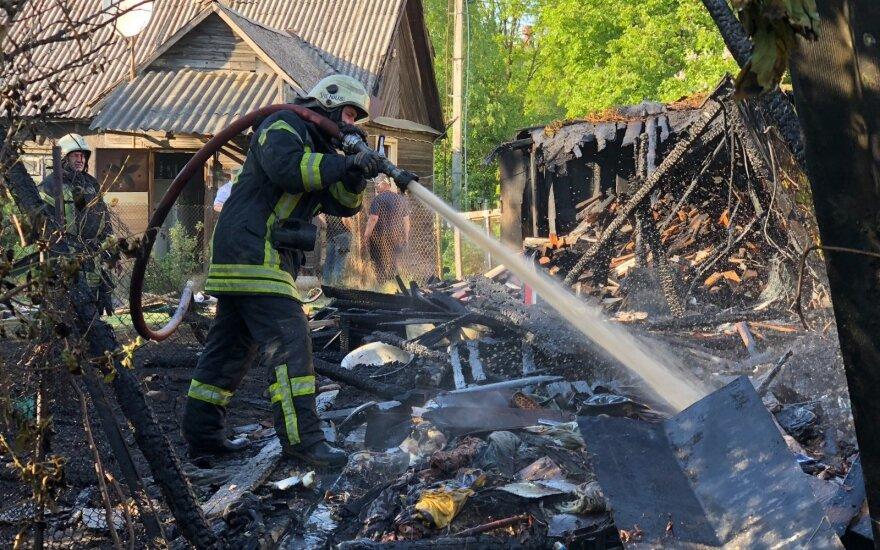 Žalos gyventojų turtui – vis didesnės: kalti gaisrai ir vagys