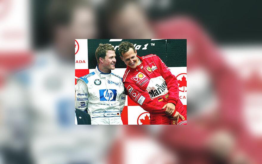Michaelis Schumacheris, Ralfas Schumacheris
