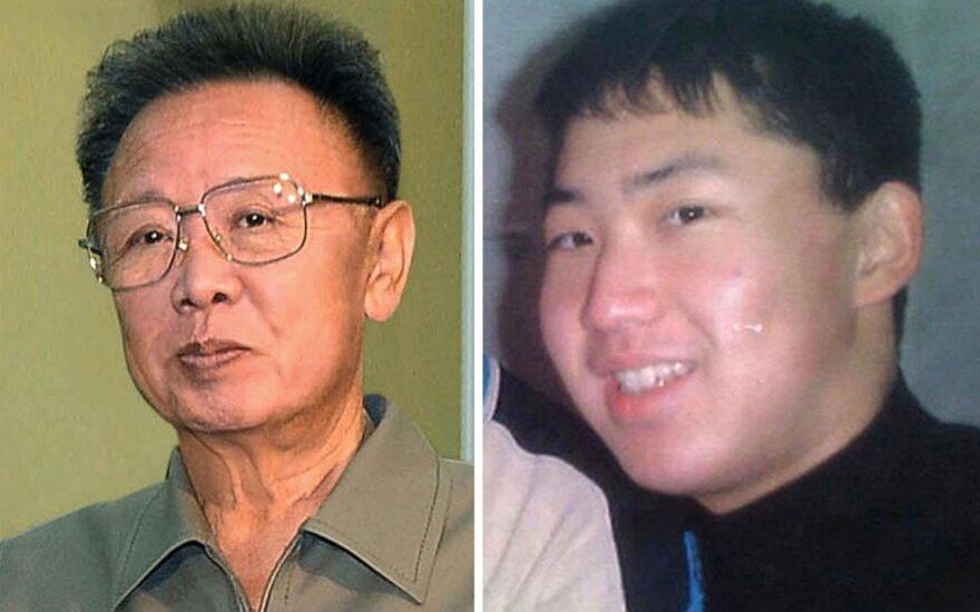Kim Jong Uno ir jo tėvo biografijose – įdomūs atradimai
