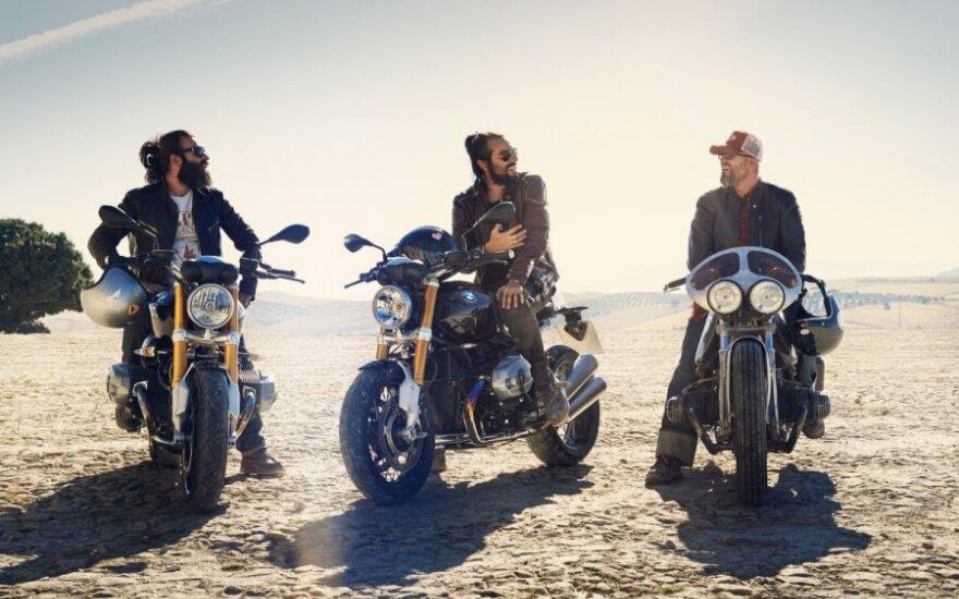 BMW R nineT motociklas