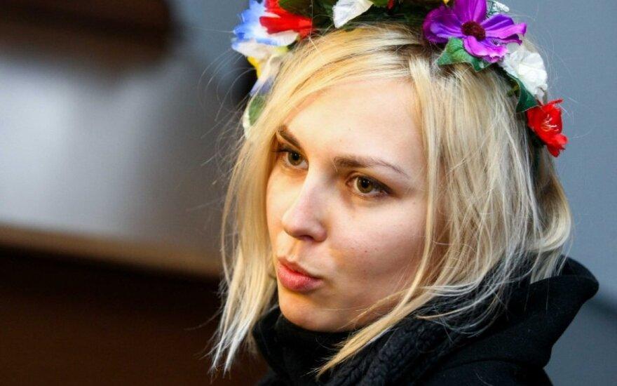 Femen aktyvistė teisme